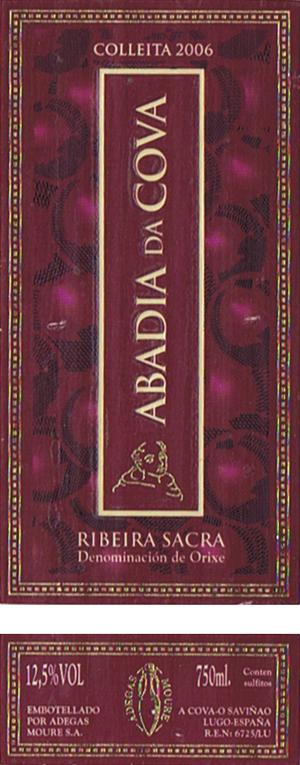 Abegas-Moure_Abadia-da-Cova-2006