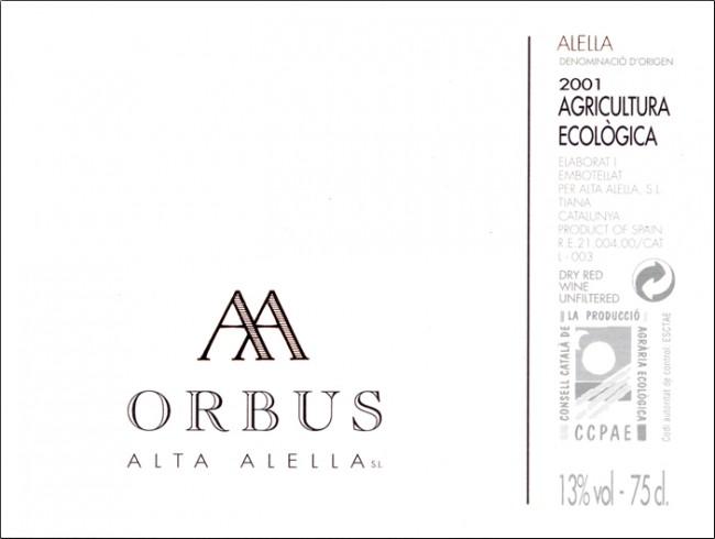 Alta Alella_Orbus 2001