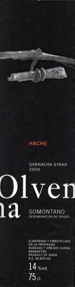 Olvena_Hache-Garnacha-Syrah-2004