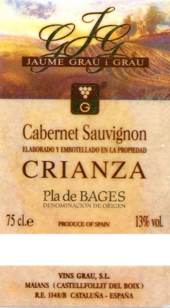 Jaume-Grau-i-Grau_Cabernet-Sauvignon-Crianza-1999