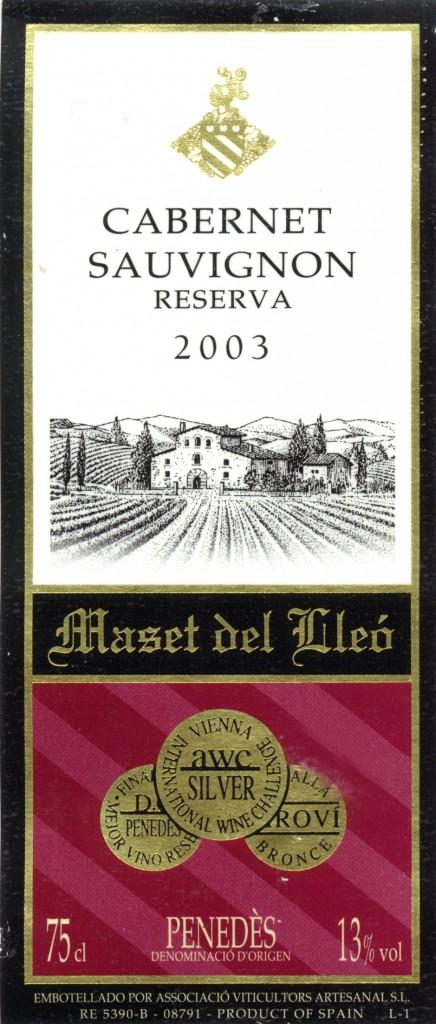 Masset-del-Lleo_Cabernet-Sauvignon-Reserva-2003