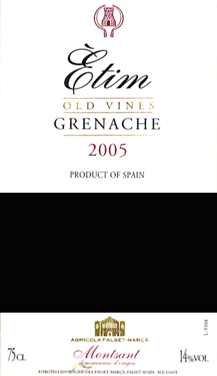 Agricola-Falset-Marca_Etim-Grenache-2005