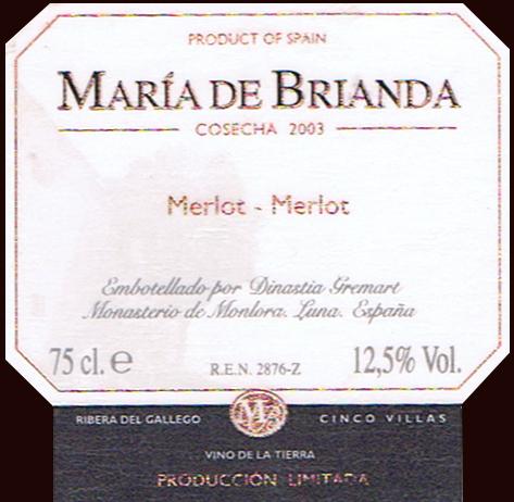 Dinast-Gremart-Mon-Montora_Maria-de-Brianda-2003