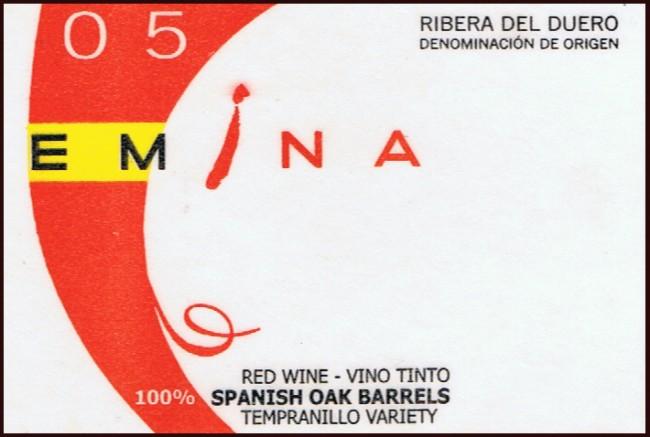Bodega Matarromera_Emina 05 2005 Roble