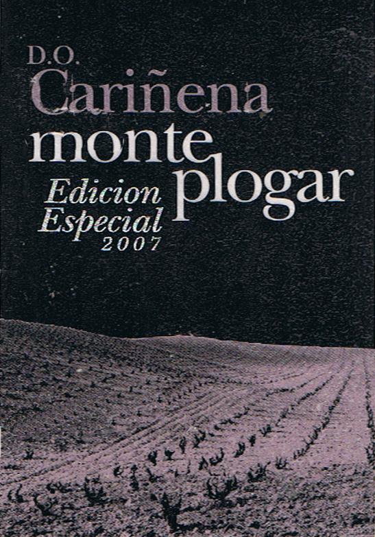 Bodegas Virgen del Aguila_Monte Plogar Edición Especial 2007