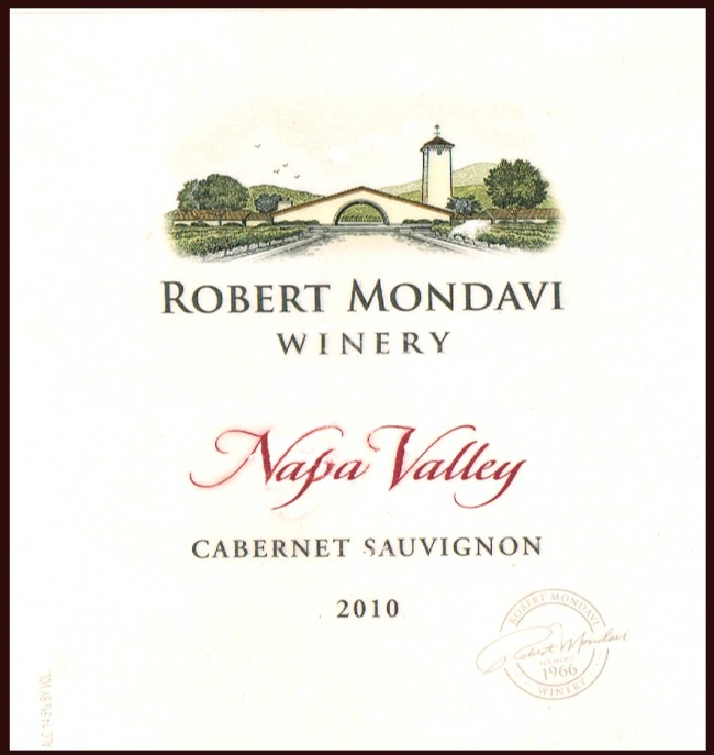 Robert Mondavi Winery_Robert Mondavi 2010