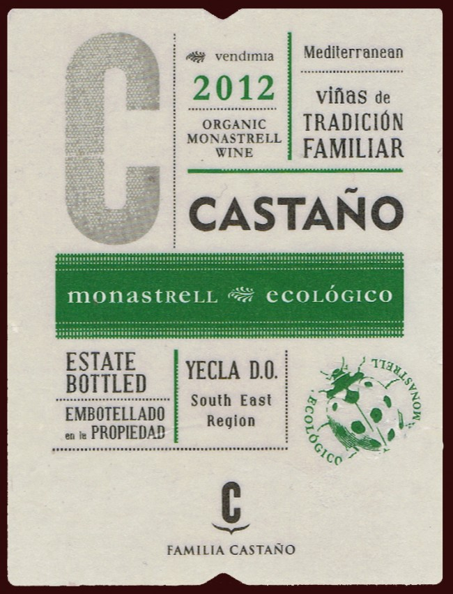 Bodega Familia Castaño_Castaño 2012