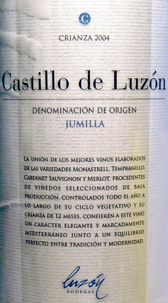 Bodegas-Luzon_Castillo-de-Luzon-Crianza-2004