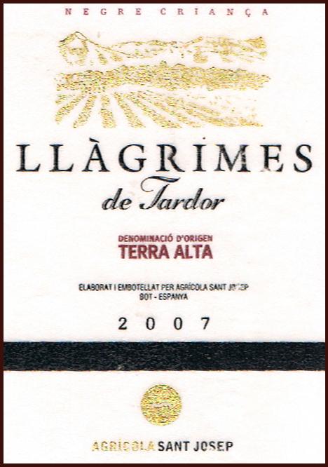 Agricola-Sant-Josep_Llagrimes-de-Tardor-2007