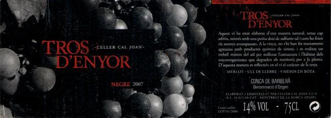 Celler-Cal-Joan_Tros-dEnyor-2007