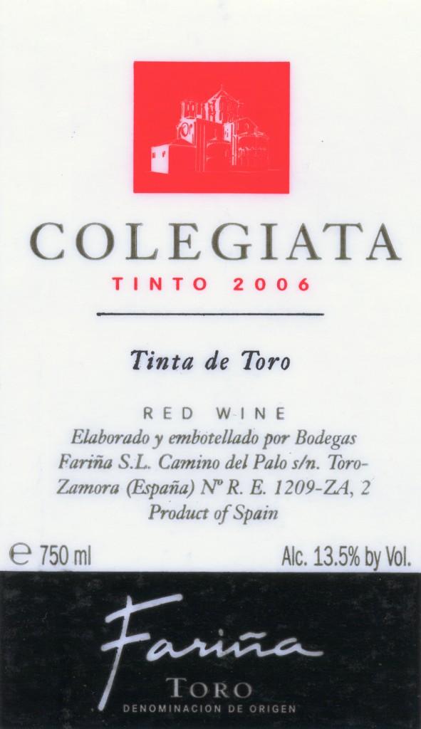 Farina_Colegiata-Tinto-2006