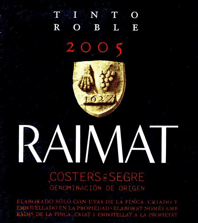 Raimat_Tinto-Roble-2005