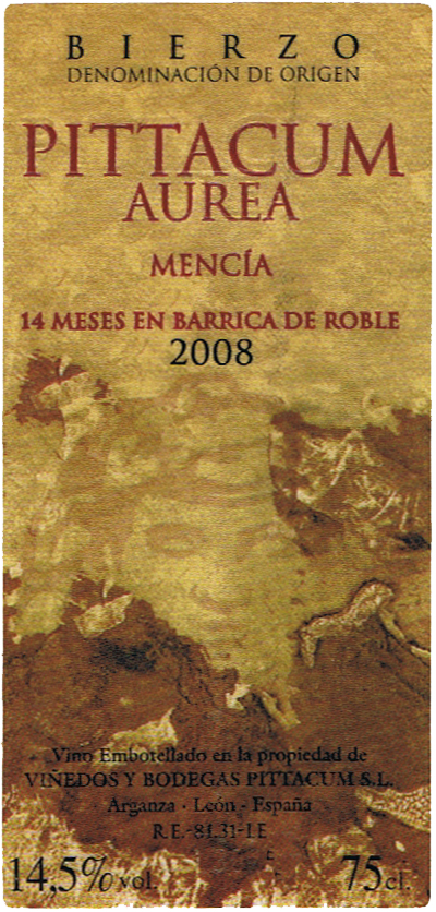 Viñedos y Bodegas Pittacum_Pittacum Aurea 2008