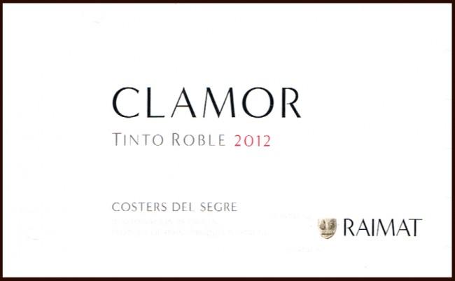 Raymat_Clamor Tinto Roble 2012