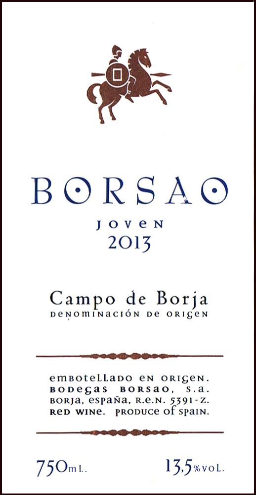 Bodegas Borsao_Borsao Joven 2013