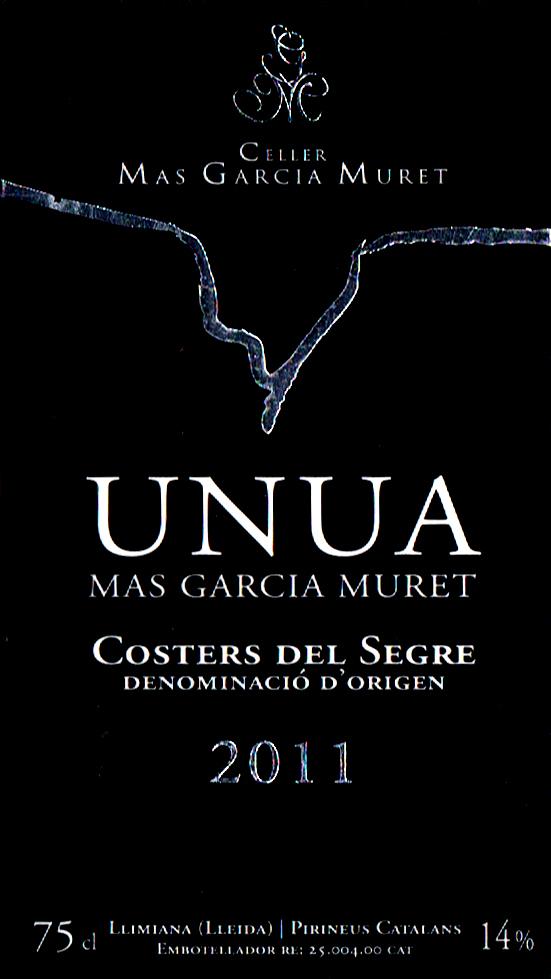 Celler Mas García Muret_Unua 2011