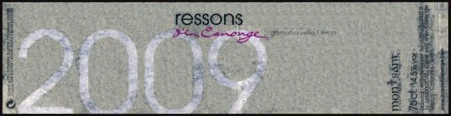 Mas den Calonge_Ressons den Calonge 2009