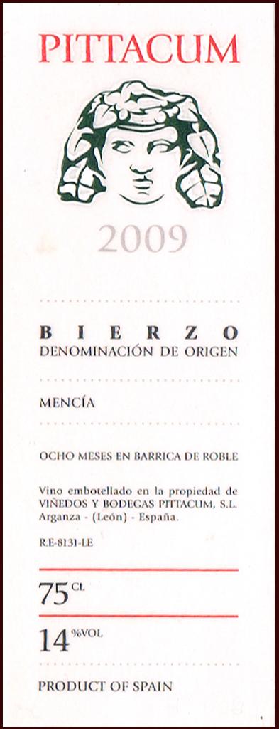 Viñedos y Bodegas Pittacum_Pittacum 2009