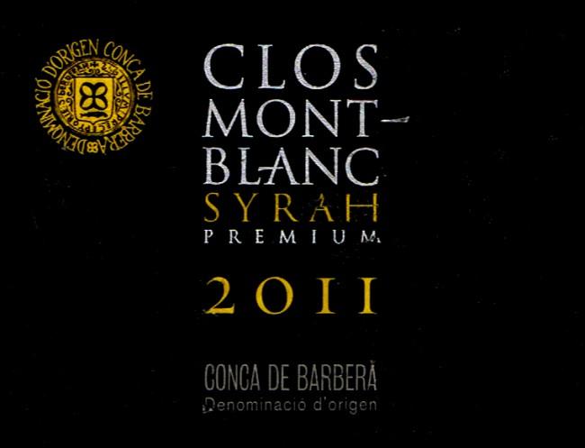 Clos Monrblanc SL_Clos Mont Blanc Premium 2011