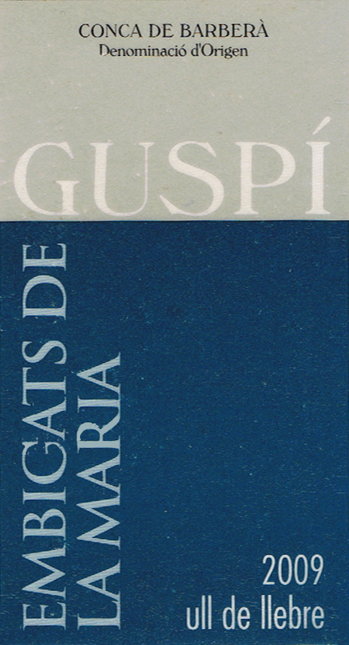 Josep M Guspí Gimenez SL_Embigats de la Maria 2009