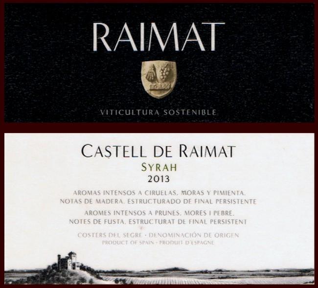 Raimat SA_Castell de Raimat 2013