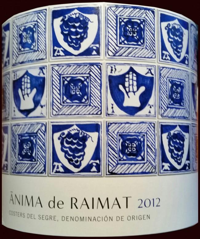 Raimat_Ànima de Raimat 2012