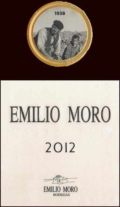 Bodegas Emilio Moro SL_Emilio Moro 2012