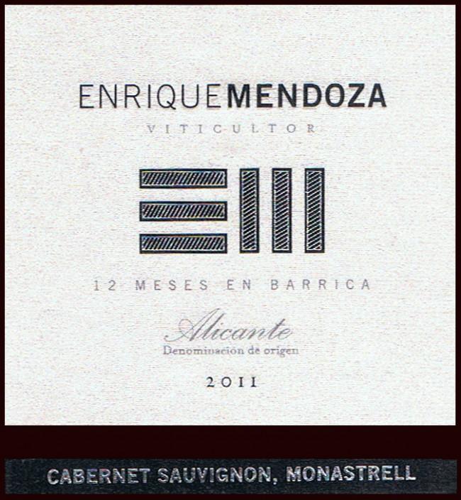 Bodegas Enrique Mendoza SL_Enrique Mendoza 2011