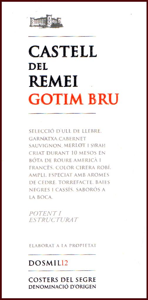 Castell del Remei_Gotim Bru Dosmil12