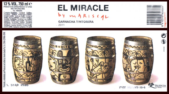 Vicente Gandía Pla SA_El Miracle by Mariscal 2011
