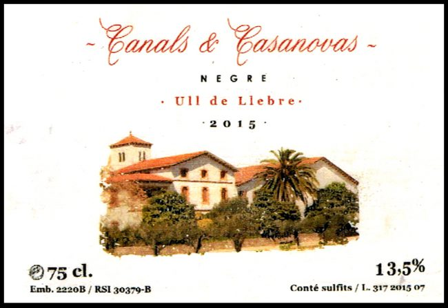 Canals & Casanovas SL_Negre 2015